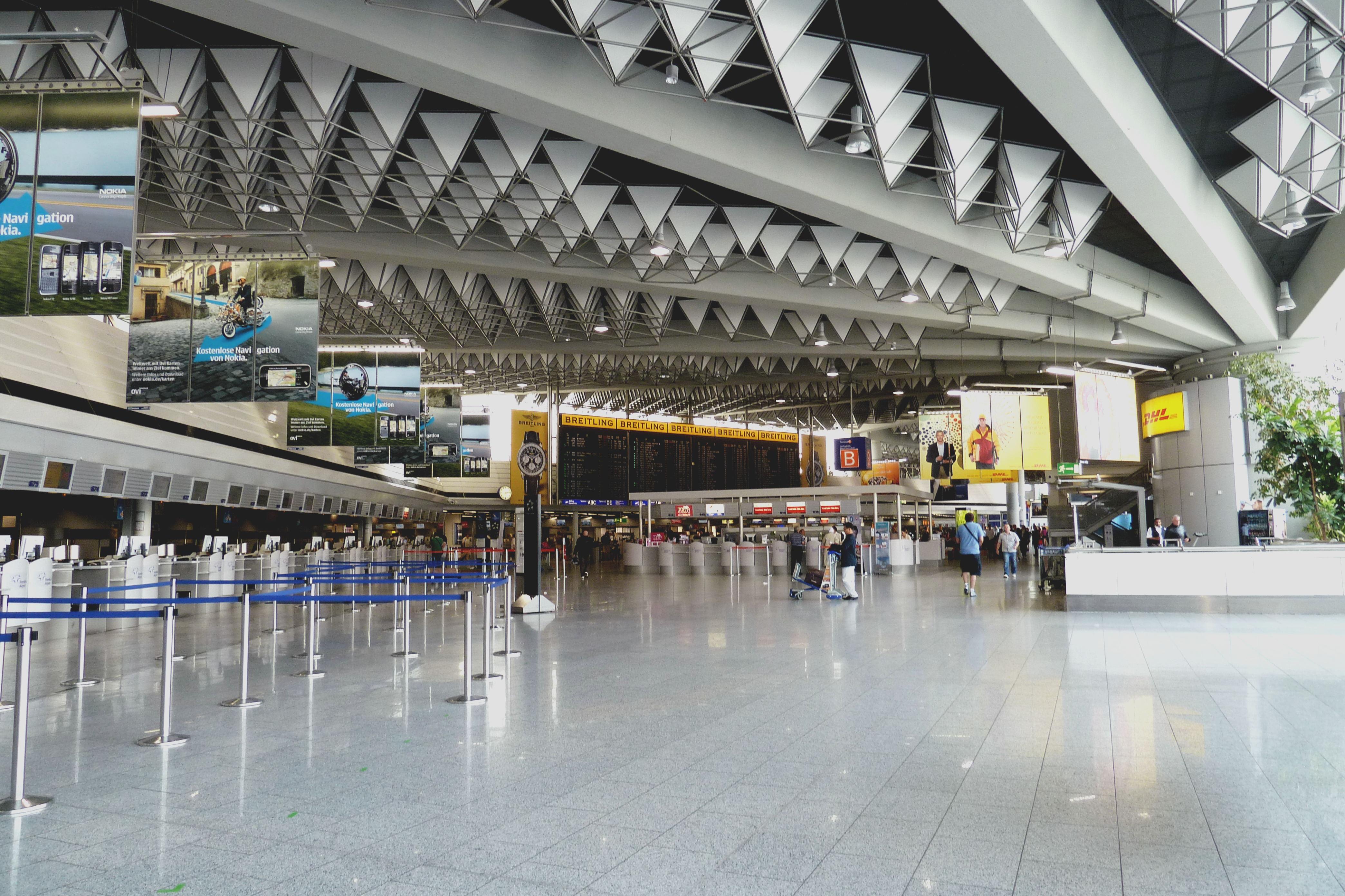 Airport, Frankfurt.