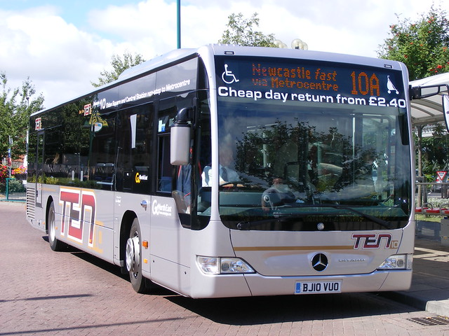 Go North East 5329 Bj10vuo Mercedes Citaro Flickr