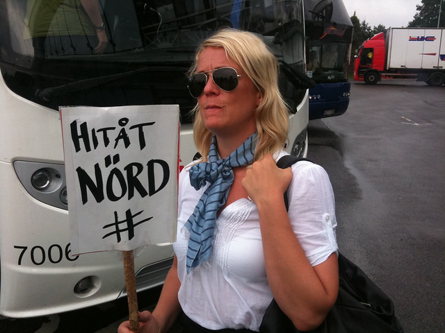 Hård och omhändertagande: Karin Adelsköld inför SSWC 2010