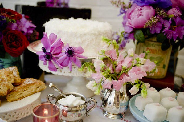Purple Passion Dessert Buffet-Style Me Pretty-Camille Styles Events