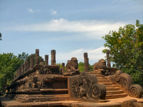 Polonnaruwa temple, Sri Lanka