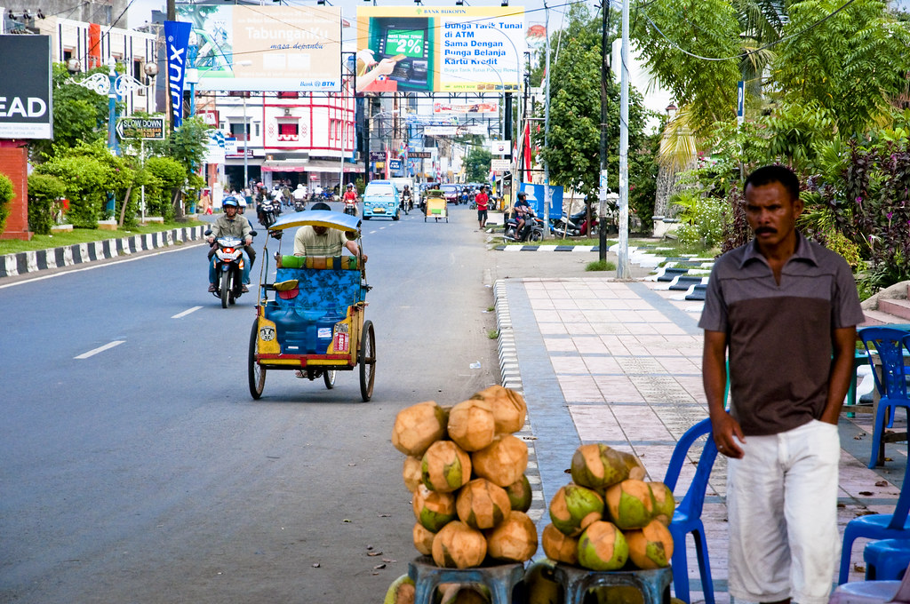 Street Scene in Makassar