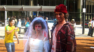 Vancouver Zombiewalk | Vancouver Art Gallery