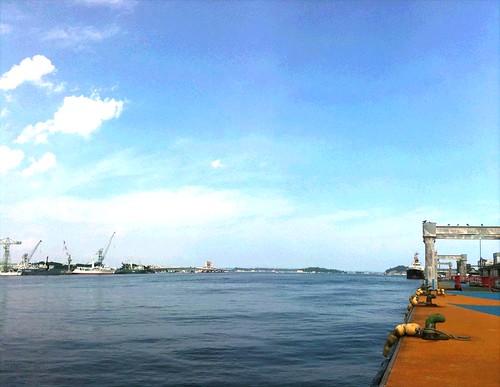 塩釜港。by Pano