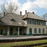 railway station in Nyzhankovychi