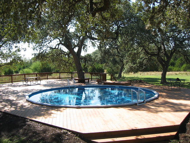 Round Above Ground Pool Spring Branch Tx Flickr