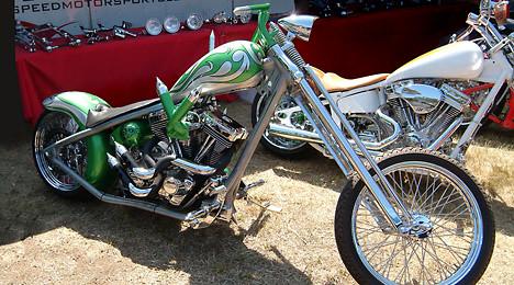 Custom Motorcycle Photographs