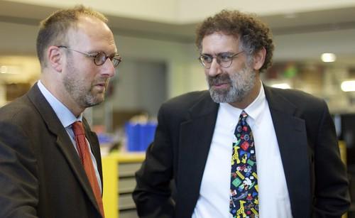 Jorgen Knudstorp and Mitch Resnick
