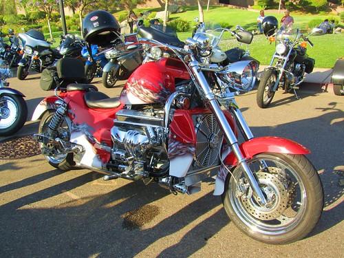 Motorcycle V8 Custom