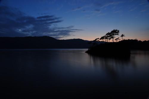 十和田湖夕景