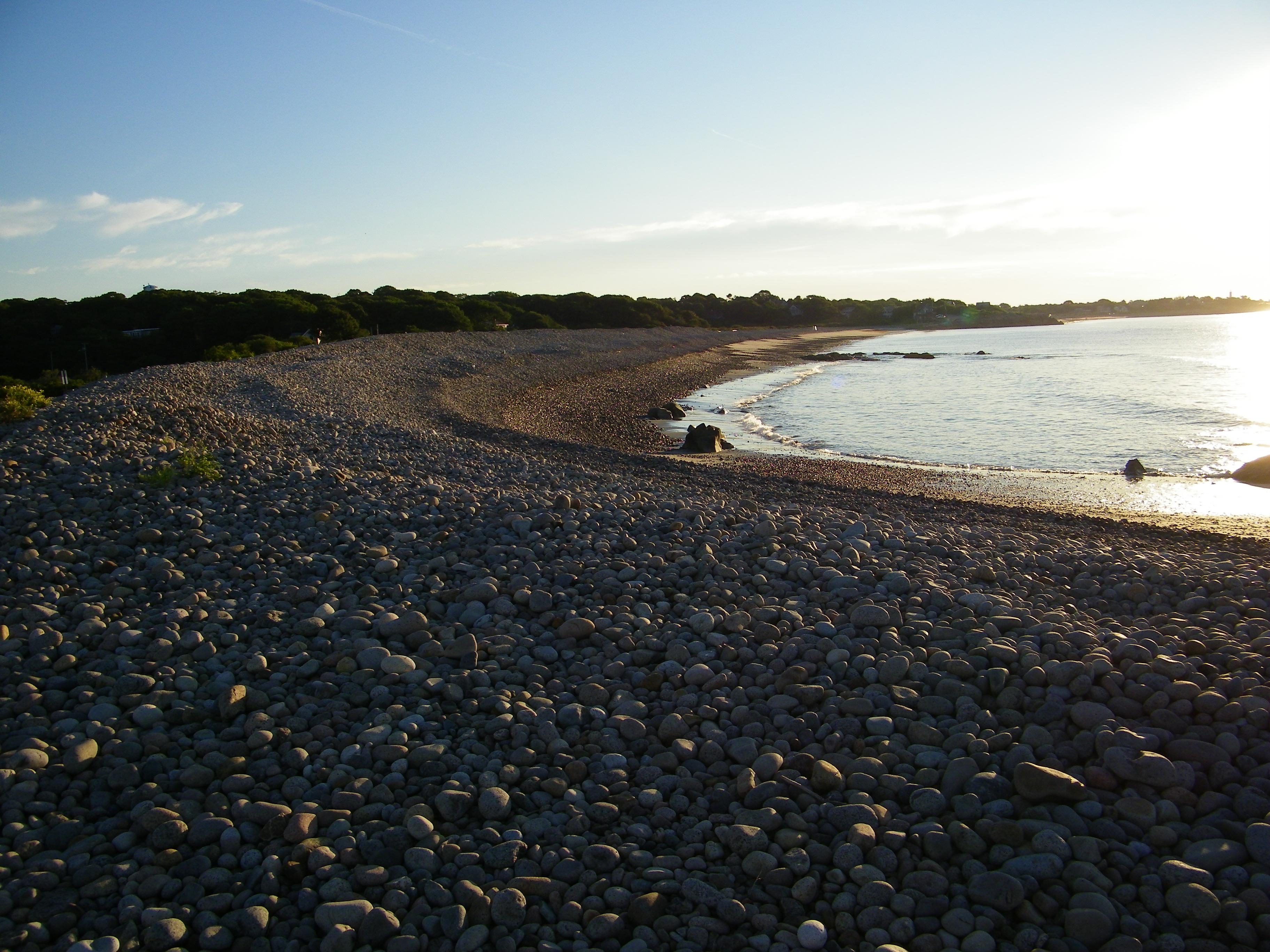 Sunrise At Thacher Island Twin Lighthouses Cape Ann Mass
