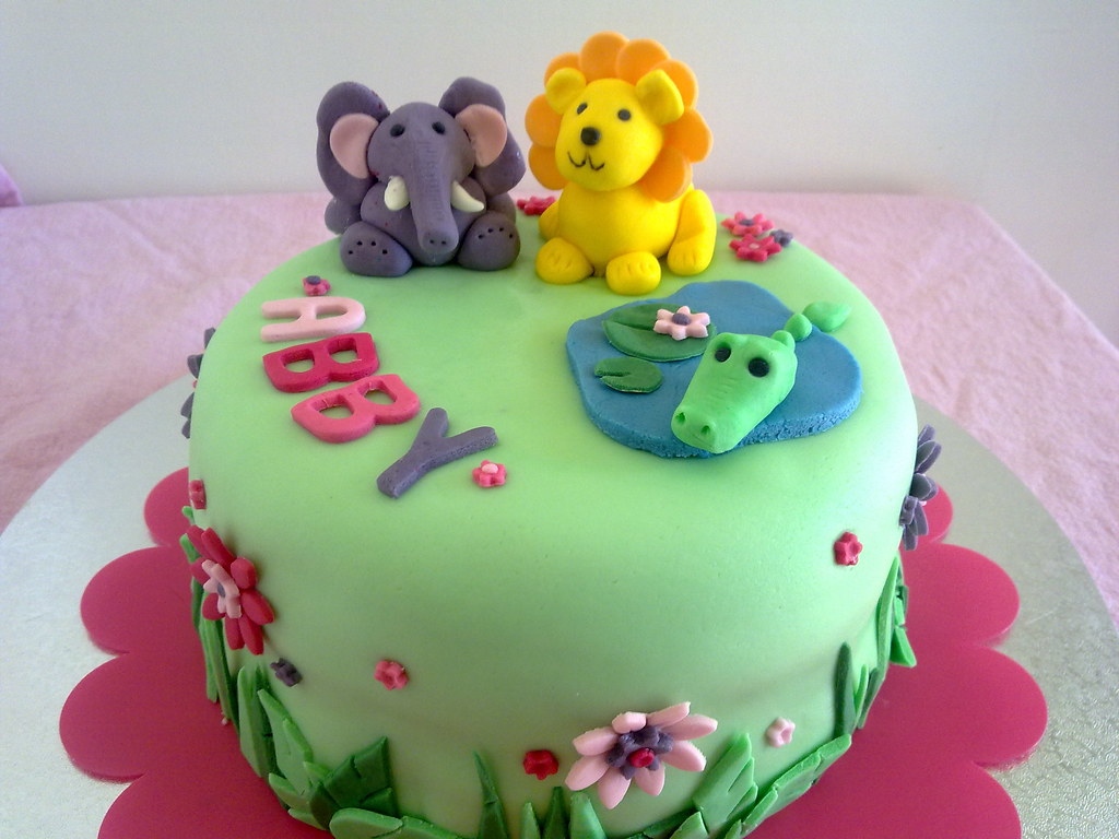 Jungle Cake Side View