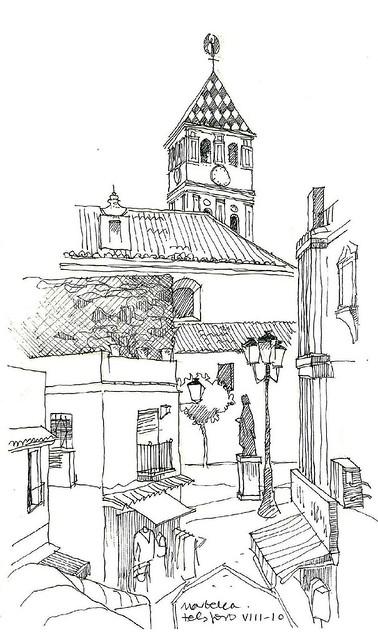 Marbella, acceso a Pza de la Encarnación