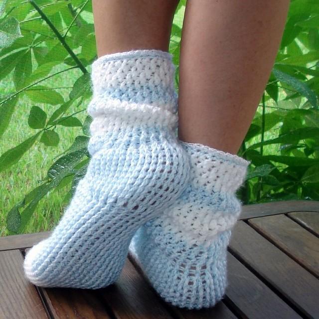 Crochet Socks Beginners: Crocheted socks patterns crochet for ...