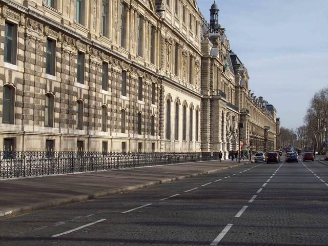 La galerie du bord de l eau seine louvre paris pierre bourru 39 s blog - Date construction du louvre ...