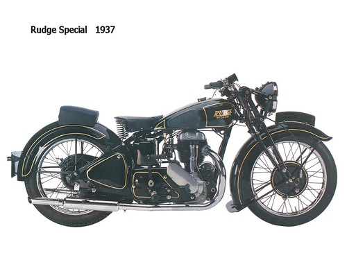 Rudge Special 1937 CAUTION► All kinds of publication and commercial usage are prohibited & illegal ! ◄