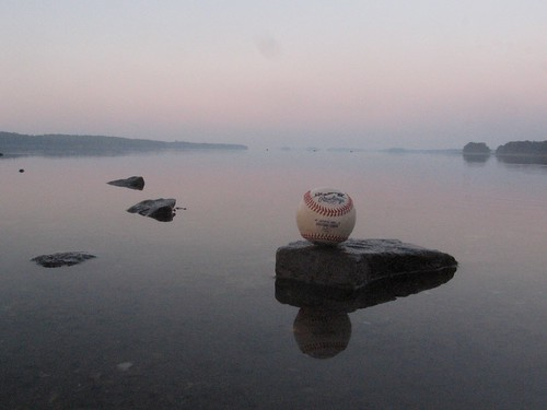 sky reflection water tattoo sunrise ball dawn official rocks baseball maine brunswick autograph land eastern league rawlings maquoitbay blakemaxwell 100possibilities