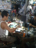 Fixing tube television in Cambodia