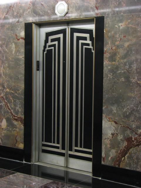 Art Deco Elevator Doors Empire State Building Flickr