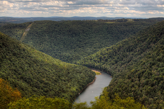 Cheat Canyon from Coopers Rock