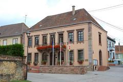 Hochfelden - Mairie - Photo of Ringeldorf