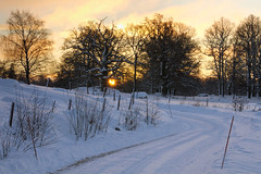Sunrise On A Winter's Day
