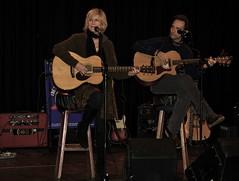 Lori Lieberman, Amsterdam, with Eugene Ruffolo