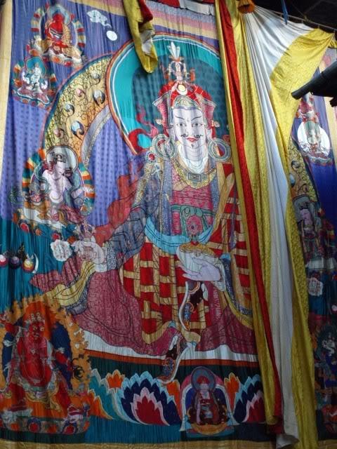 Lhuentse Festival - Guru Rinpoche Thangka