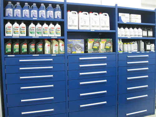 Automotive Parts Cabinets & Shelving