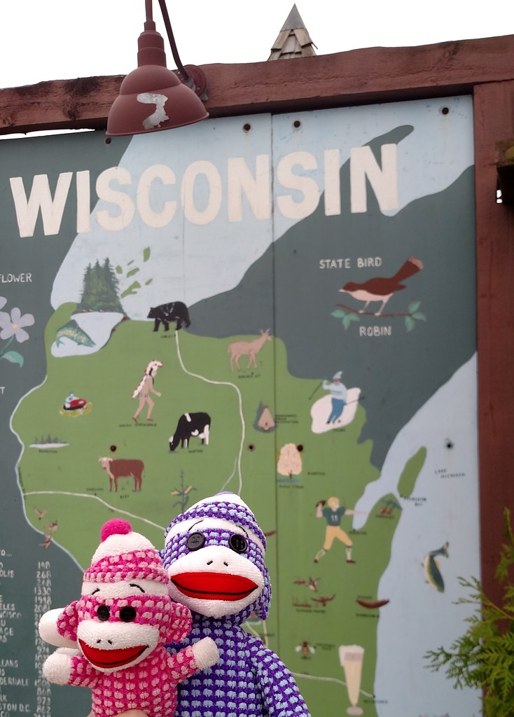 Monkeys play tourist in Wisconsin