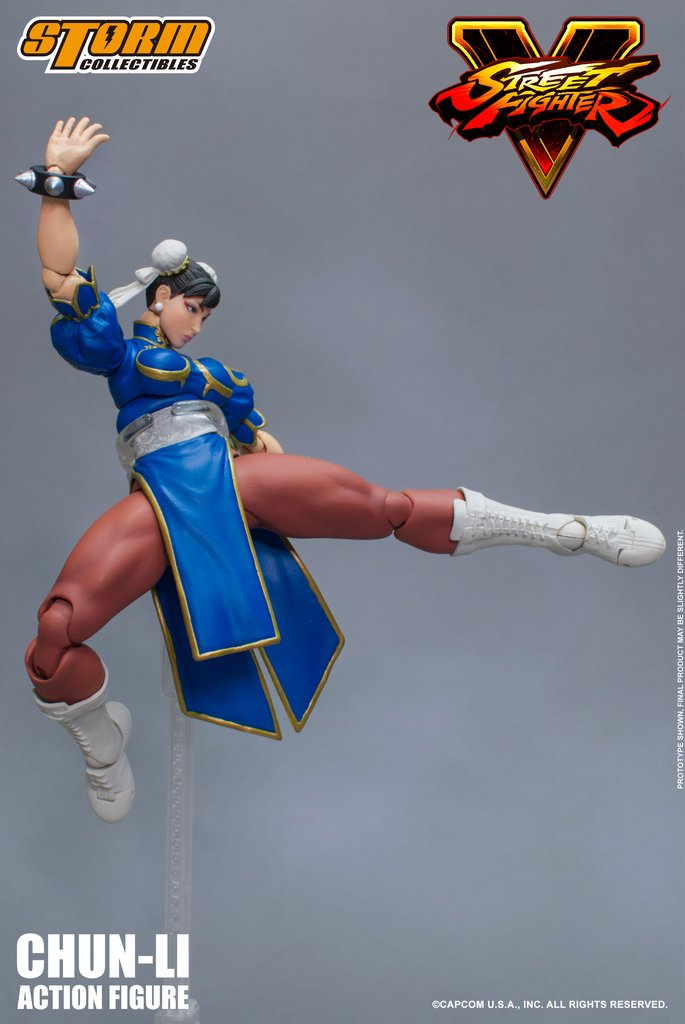 「新增官圖&販售資訊」百裂腳蜜大腿參戰!! Storm Collectibles 快打旋風5 系列【春麗】Chun-Li 1/12 比例人偶作品
