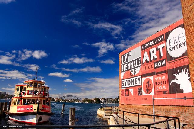 Free Ferry - Biennale 2010 - Cockatoo Island, Sydney