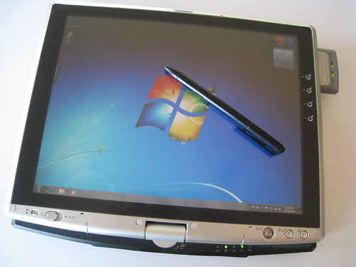 windows 7 on the toshiba portege m200 tablet pc blog. Black Bedroom Furniture Sets. Home Design Ideas