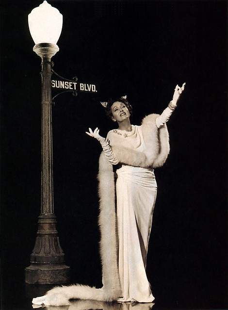 "Gloria Swanson ""Sunset Boulevard"" Promo Photo"