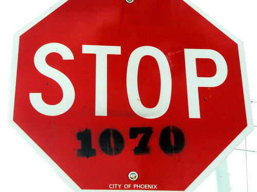 STOP 1070 City of Phoenix