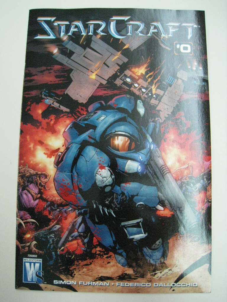 StarCraft Comic Book Issue #0
