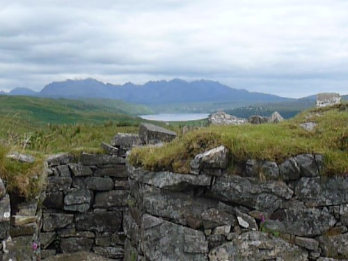 View from Dun Beag Broch, Skye
