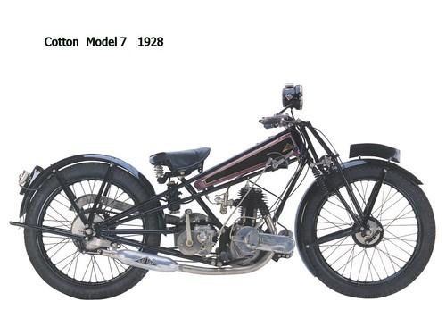 Cotton Model 7 - 1928