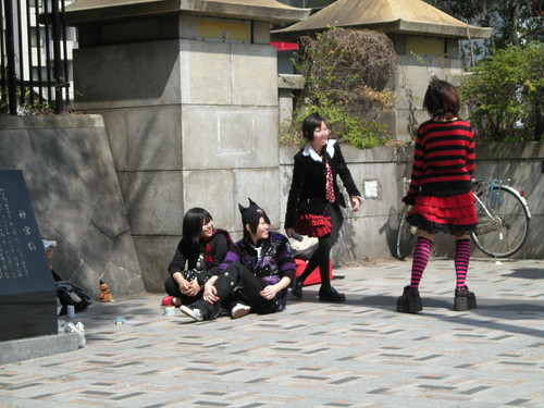 Tokyo Saturday April 5th - Harajuku Girls (2)