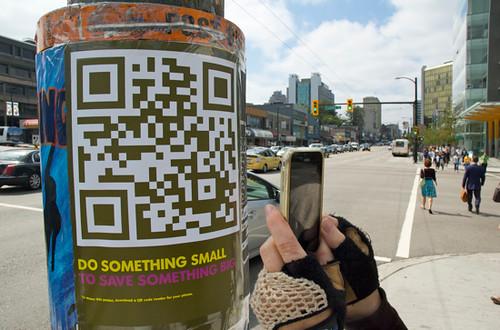 Big Wild QR Code Canadian Campaign