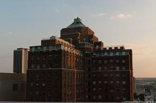 West Hospital Dusk