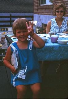 Kathy at 3 July 4 66
