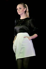 leather(0.0), formal wear(0.0), costume(0.0), neck(1.0), textile(1.0), model(1.0), clothing(1.0), abdomen(1.0), cocktail dress(1.0), limb(1.0), leg(1.0), fashion(1.0), satin(1.0), photo shoot(1.0), lady(1.0), human body(1.0), thigh(1.0), beauty(1.0), dress(1.0),