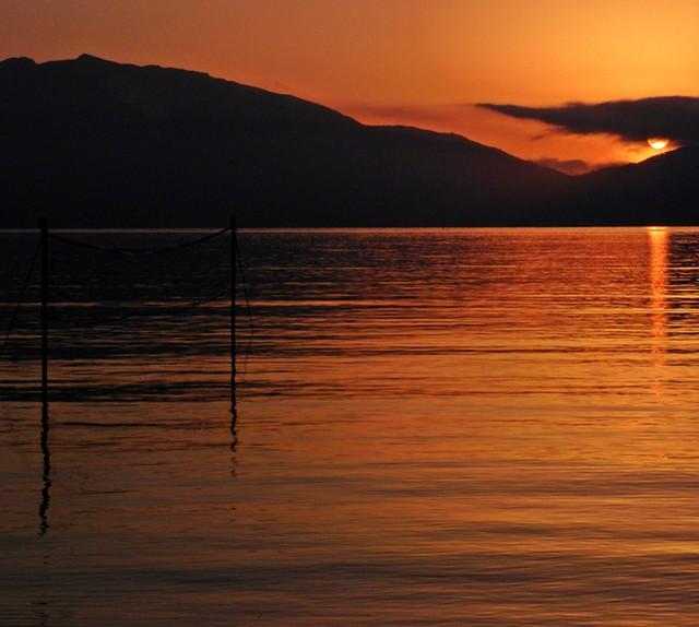 L'alba dell'ultimo giorno a Zante...