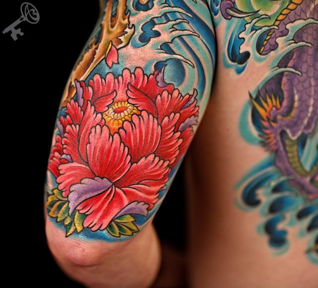 43 Japanese Peony Tattoos Collection: 4972675933_a5b298bca1_z.jpg
