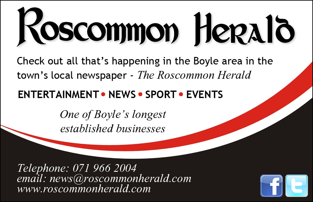Roscommon Herald Advert Card