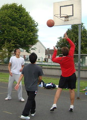 sports, competition event, streetball, physical fitness, ball, basketball,