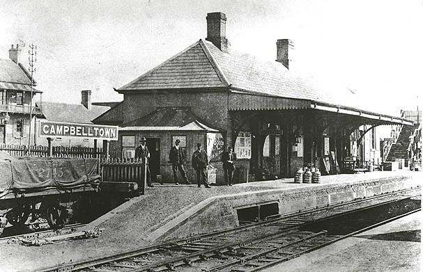 Railway Station Campbelltown Flickr Photo Sharing