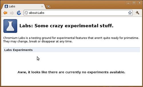 Niente Labs su Linux (per ora)