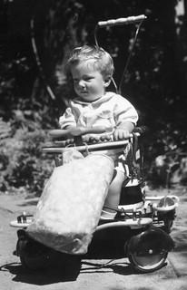 Me in stroller, 1941